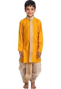 zari-embroidered-kurta-with-dhoti