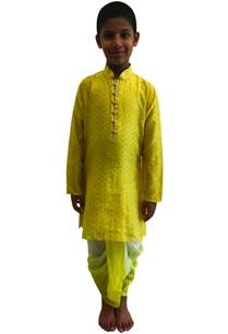 printed-kurta-with-dhoti