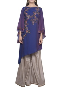 floral-embroidered-kurta-with-flared-sleeves