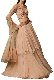 embellished-sheer-net-lehenga-set