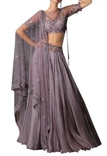 embellished-blouse-dupatta-lehenga-set