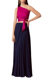 one-shoulder-draped-crop-top