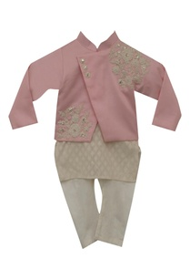 embroidered-jacket-with-kurta-churidar