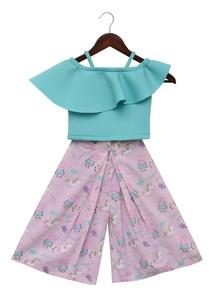 layered-top-with-printed-palazzo-pants