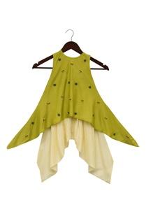 asymmetric-kurta-with-dhoti-pants