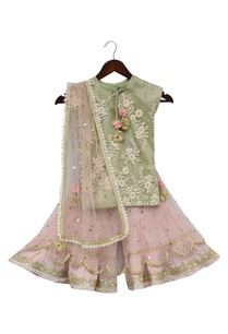 embroidered-kurti-with-sharara-pants-dupatta