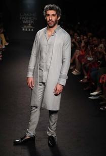 silk-linen-sherwani-jacket-with-shirt-pants