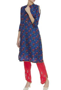 floral-print-kurta-with-embroidered-salwar