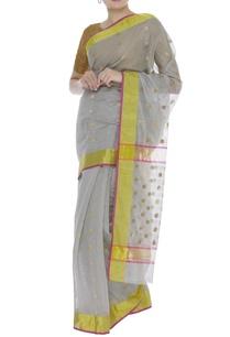 pure-chanderi-zari-sari-unstitched-blouse