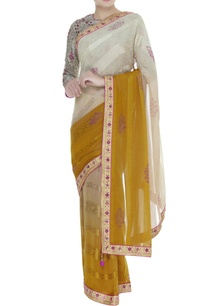 dupion-silk-jacquard-sequin-sari-blouse