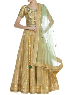 zardozi-chanderi-tissue-lehenga-set