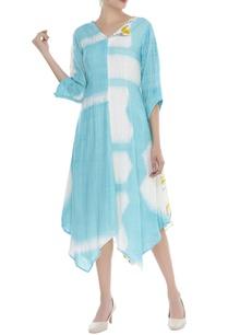 abstract-print-asymmetric-dress
