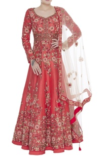resham-embroidered-anarkali-gown-with-dupatta