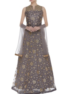 embroidered-gown-with-dupatta