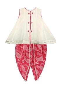flared-top-with-printed-dhoti