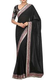 floral-swarovski-embroidered-sari-blouse-with-petticoat
