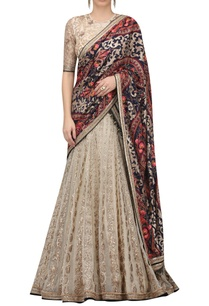resham-and-sequin-embroidered-lehenga-set