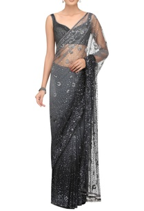 sequin-crystal-embroidered-sari-blouse-with-petticoat