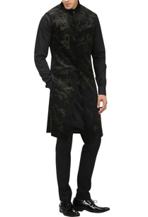 burnout-effect-graphic-sherwani-kurta-set