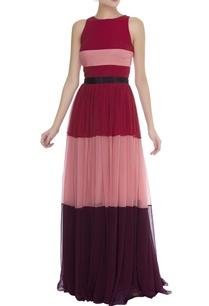 tier-gathered-maxi-dress-with-waistbelt