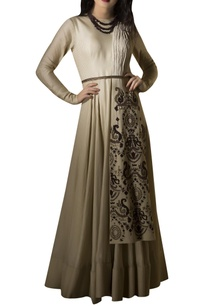 embroidered-gown-with-belt