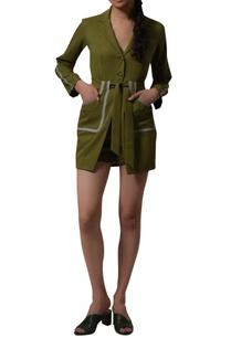 long-blazer-with-high-waist-shorts