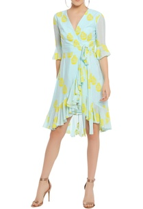 potted-printed-wrap-dress-with-ruffle-detail