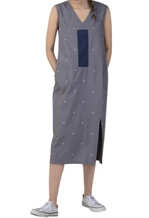 polka-dot-midi-dress-with-back-cut-out