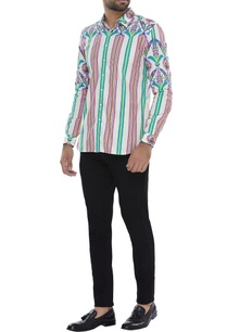 stripe-print-shirt