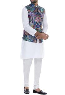 peacock-print-nehru-jacket
