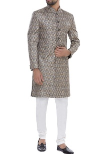 floral-print-sherwani-with-churidar