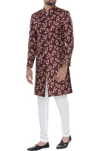 printed-sherwani-with-churidar
