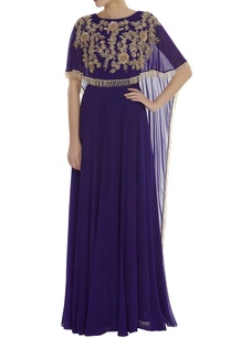 layered-gown-with-embroidered-cape