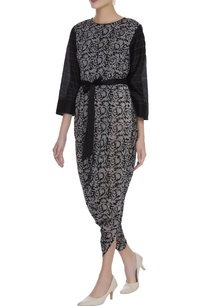 batik-print-draped-jumpsuit