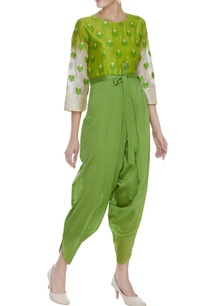 threadwork-jumpsuit-with-ombre-sleeves