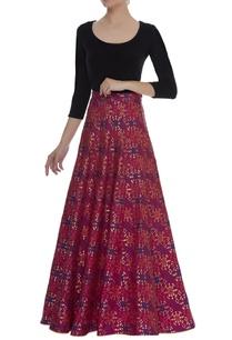 brocade-woven-skirt