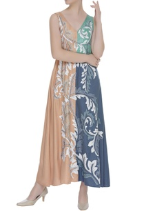 embellished-flared-maxi-dress