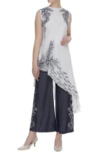 printed-asymmetric-blouse