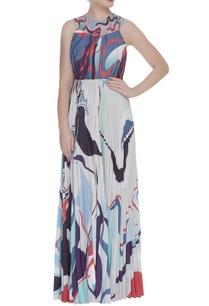 printed-pleated-maxi-dress