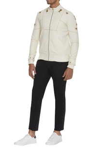 metallic-insect-embroidered-bomber-jacket