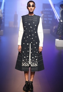 hand-embroidered-jacket-with-shirt-dress