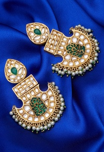 mughal-kundan-earrings