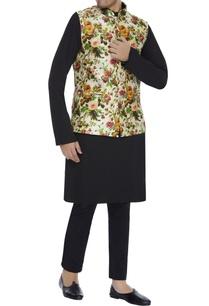 floral-print-mandarin-collar-bundi