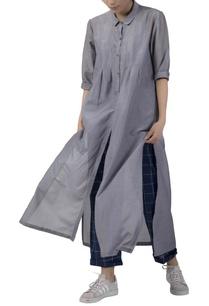 collared-cotton-silk-kurta