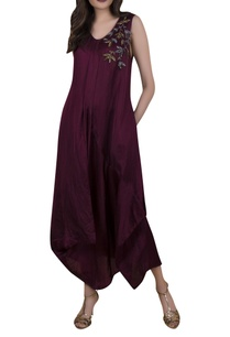 embroidered-draped-jumpsuit