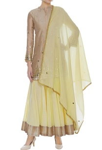 mirror-work-kurta-with-lehenga-dupatta