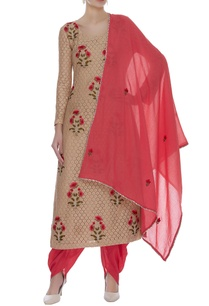 embroidered-kurta-with-dhoti-pants-dupatta