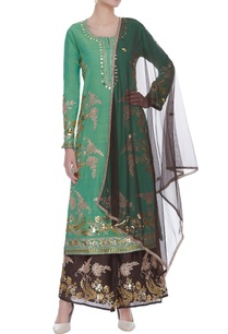 embroidered-long-kurta-with-palazzo-dupatta