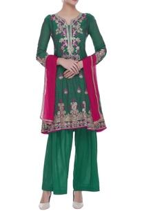 embroidered-kurta-with-pants-dupatta