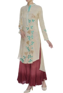 asymmetrical-kurta-sharara-set